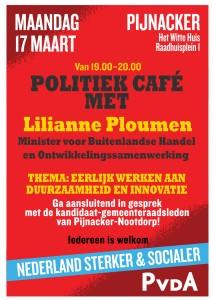 17 maart politiek café